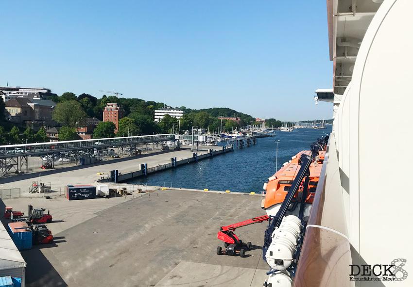 Südnorwegen mit Kopenhagen – Kreuzfahrt mit der Mein Schiff 4, Tag 1: Anreise