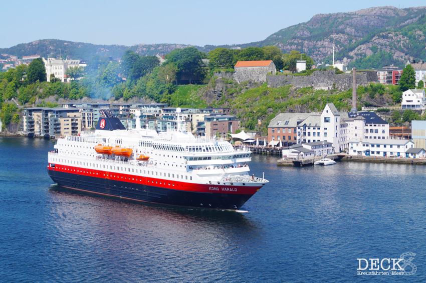 Hurtigruten-Kreuzfahrten sollen ab Mitte Juni wieder möglich sein