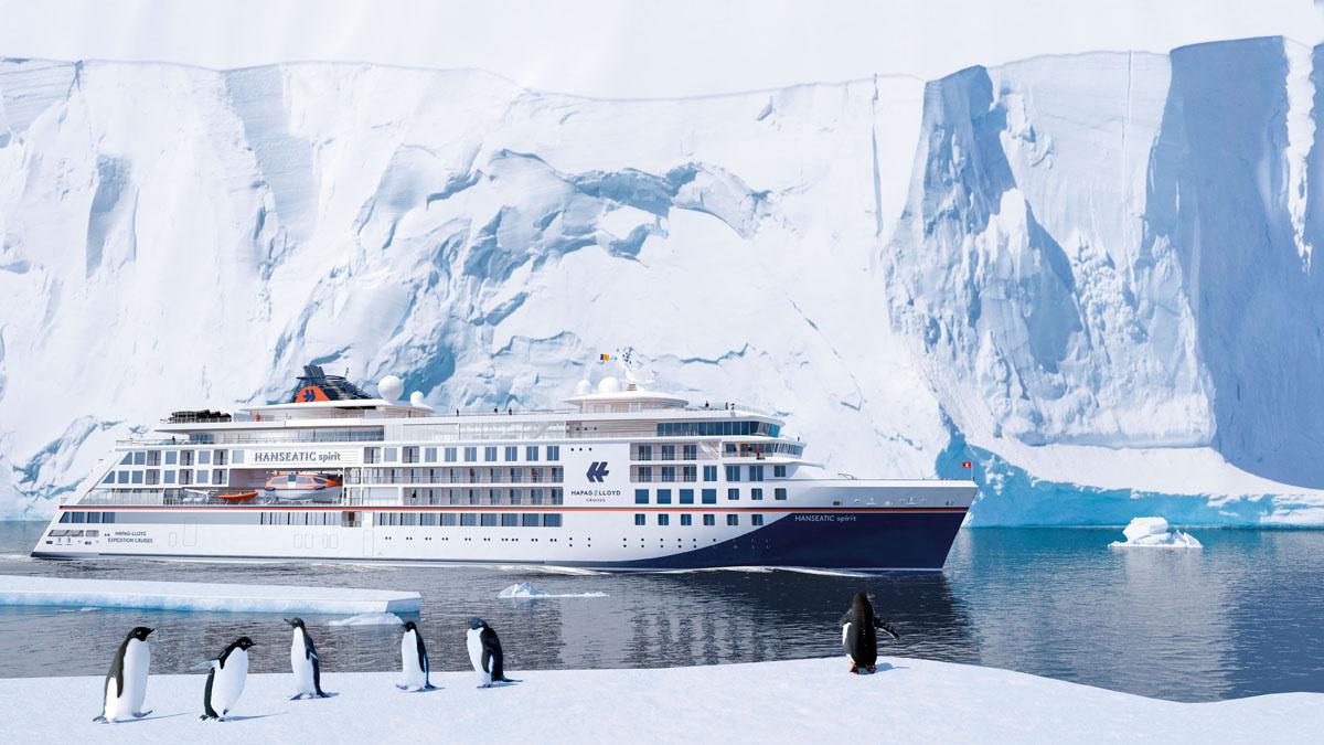 HANSEATIC spirit: Dritter Expeditions-Neubau für Hapag-Lloyd Cruises