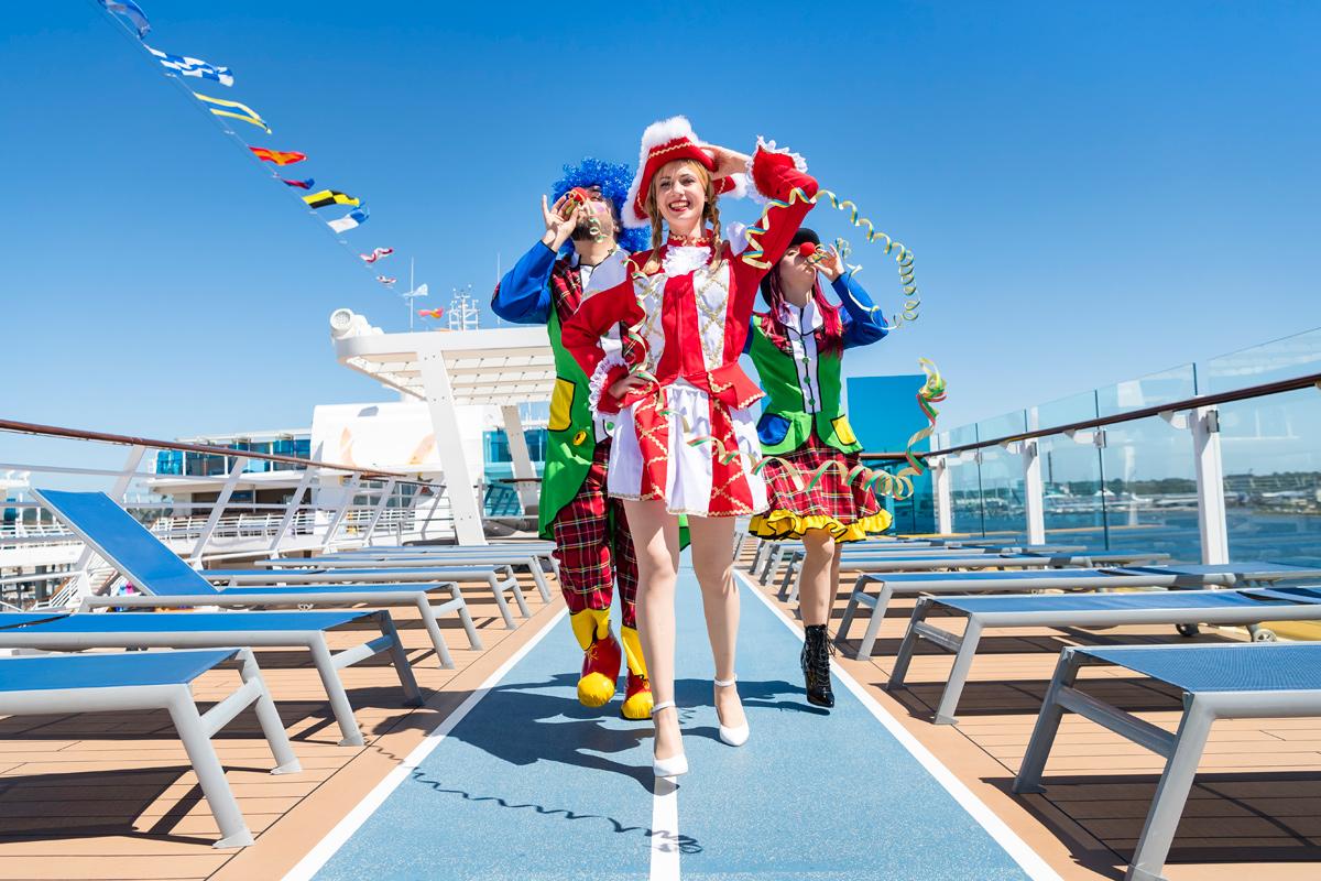 Jeckliner: Neue Karnevals-Event-Kreuzfahrt der Mein Schiff-Flotte