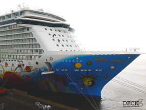Norwegian Breakaway in Bremerhaven