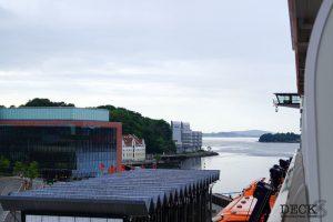 Blick von der Mein Schiff 4 auf Stavanger
