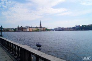 Blick vom Stadthaus aufs Wasser in Stockholm. Landausflug Stockholm auf zwei Arten erleben TUI Cruises Mein Schiff