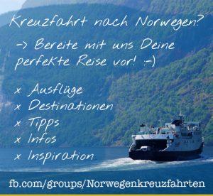 Facebook-Gruppe Norwegen-Kreuzfahrt