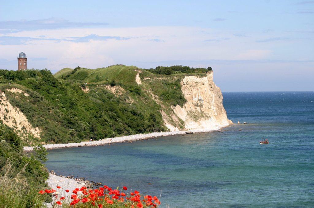 Die Kreidefelsen in Rügen, Ziel einer möglichen Flusskreuzfahrt im Sommerurlaub 2020 mit nicko cruises