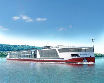 nicko cruises-Neubau nickoSPIRIT ist auf erster Testfahrt
