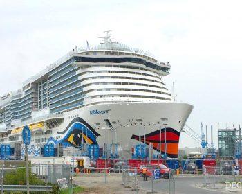 Nur 5 von 9 neuen Schiffen für Carnival werden wie geplant bis Ende des Geschäftsjahres 2021 ausgeliefert