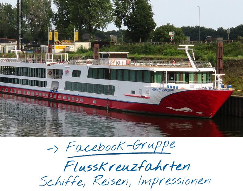Facebook-Gruppe für Flusskreuzfahrt-Fans