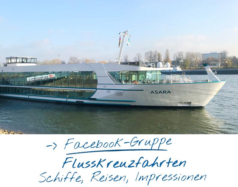 Facebook-Gruppe Flusskreuzfahrten