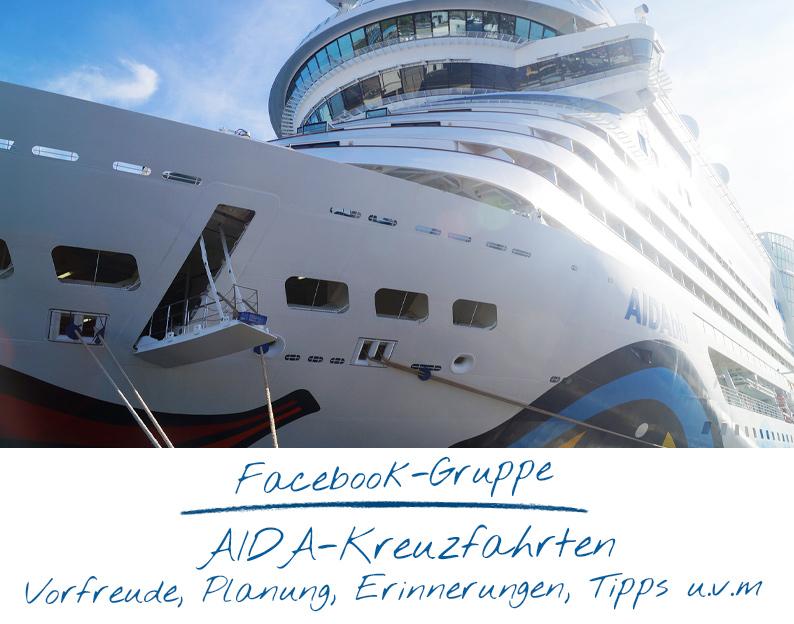 Facebook-Gruppe AIDA-Kreuzfahrten